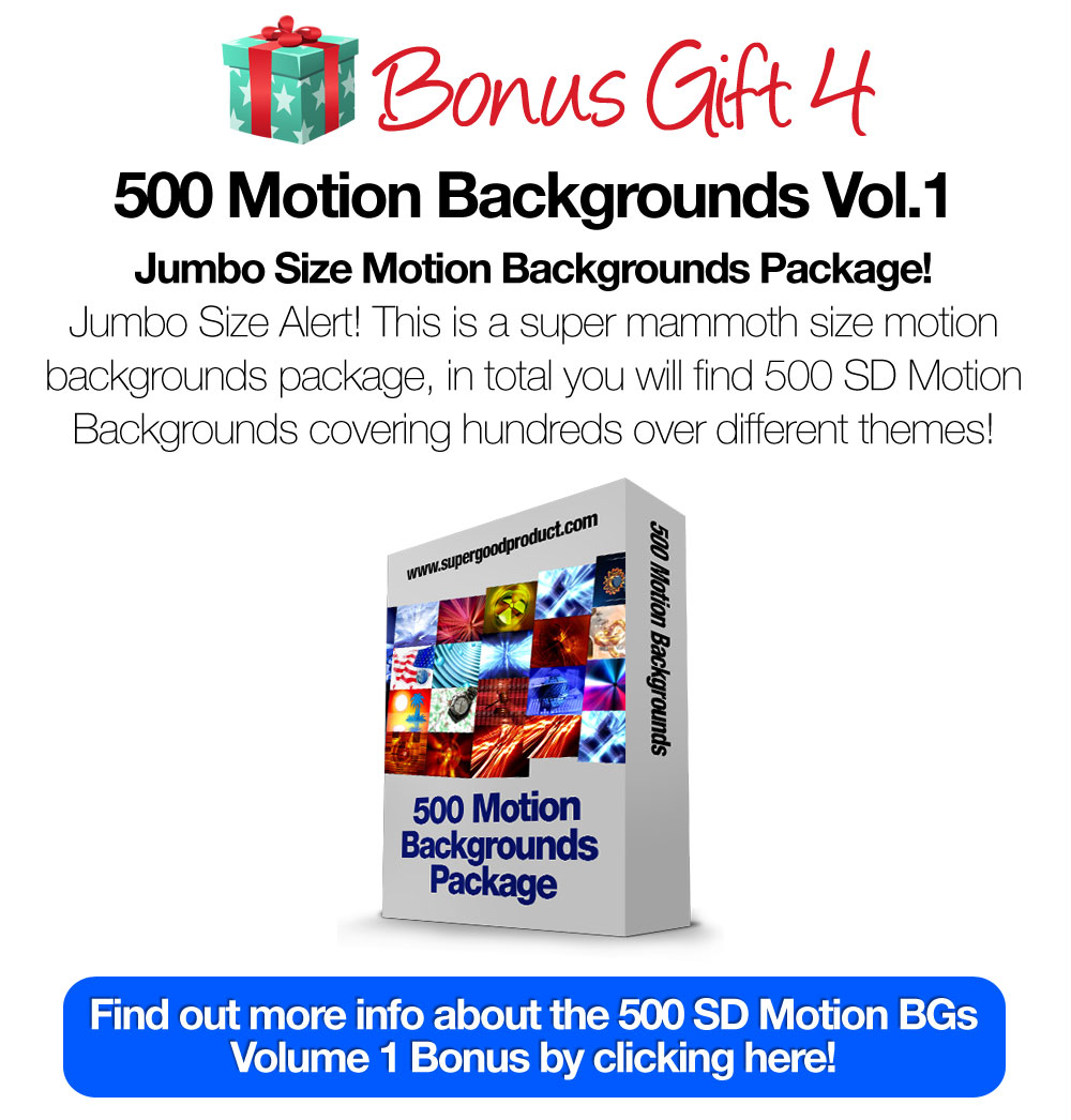 500SDMotionBackgroundsVol1