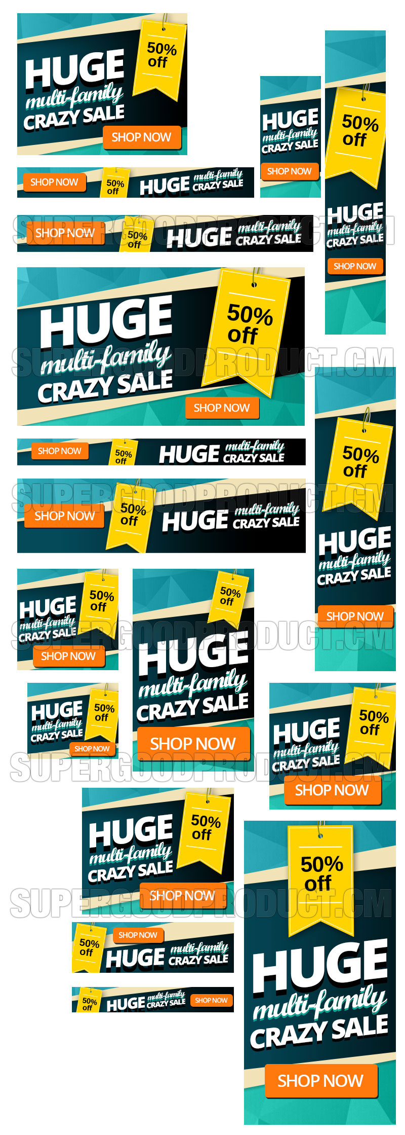 Folded-Inspired-Mega-Sale-Banners