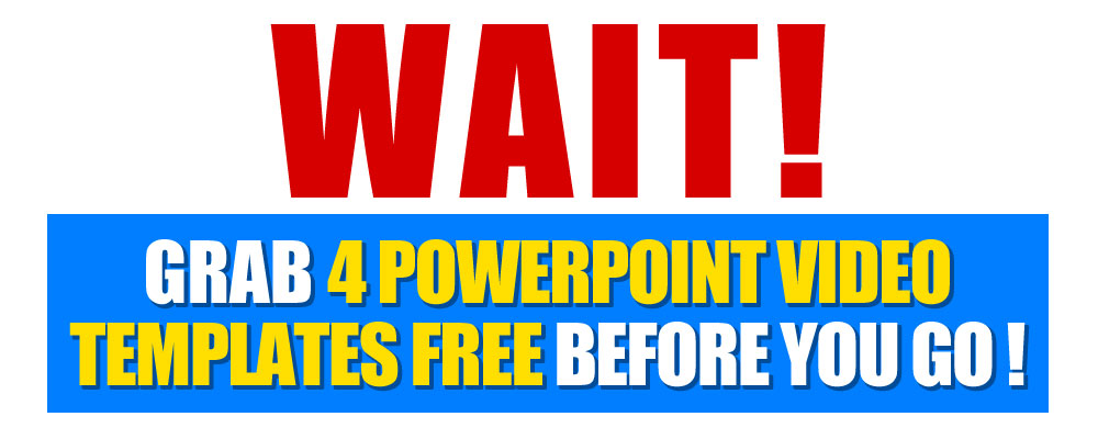 Free 4 Powerpoint Video Templates Giveaway Supergoodproduct