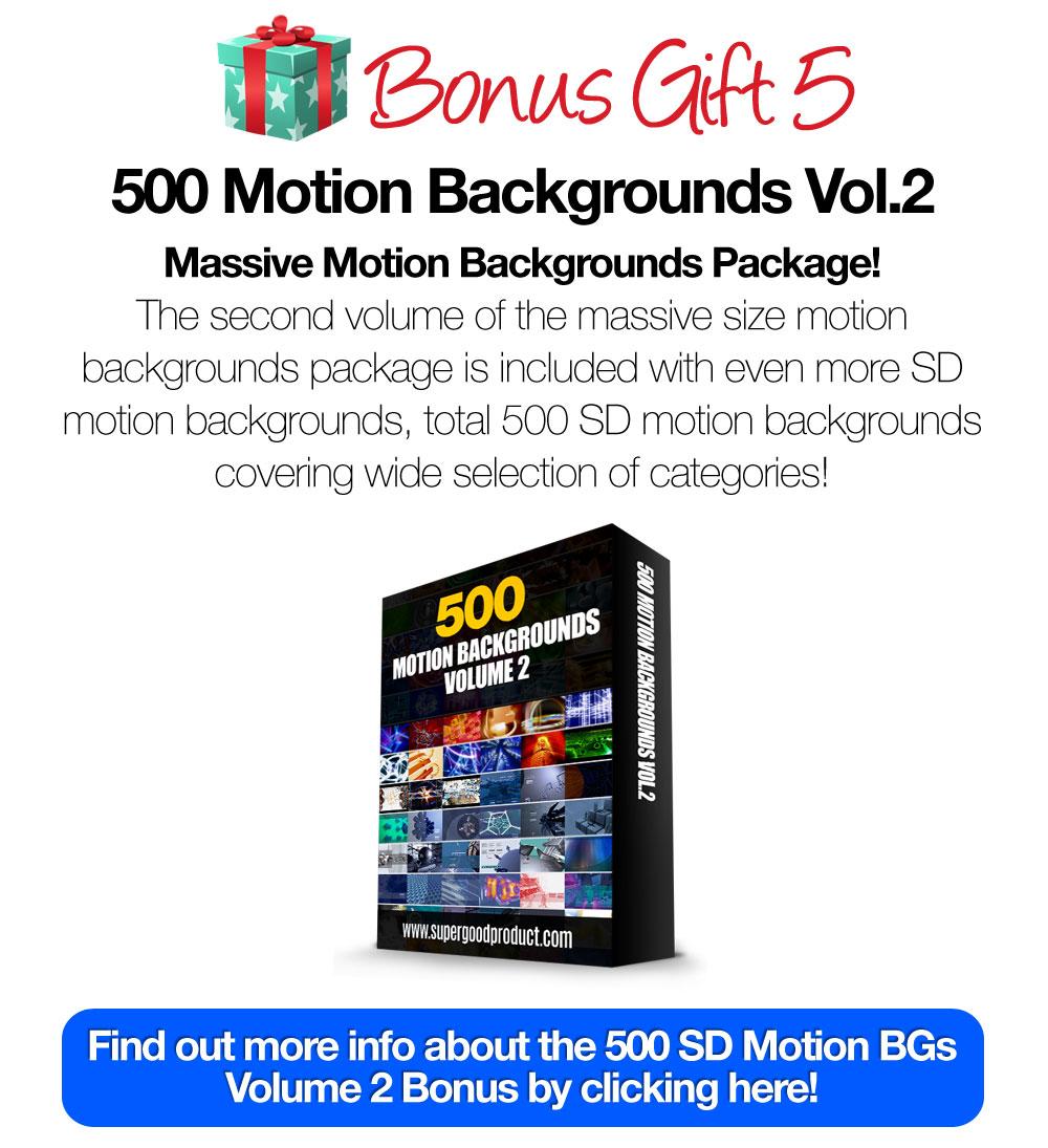 500SDMotionBackgroundsVol2