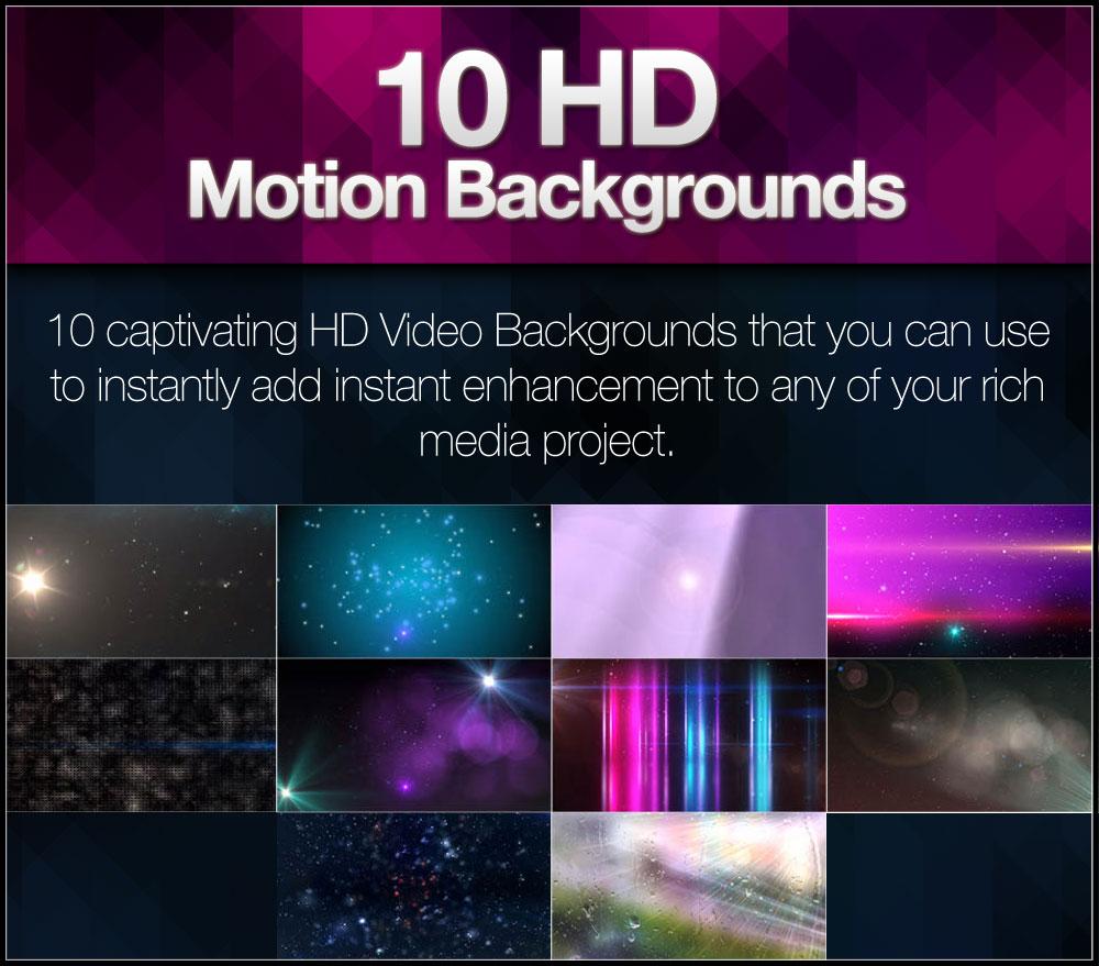 Extra-10HDMotionBackgrounds