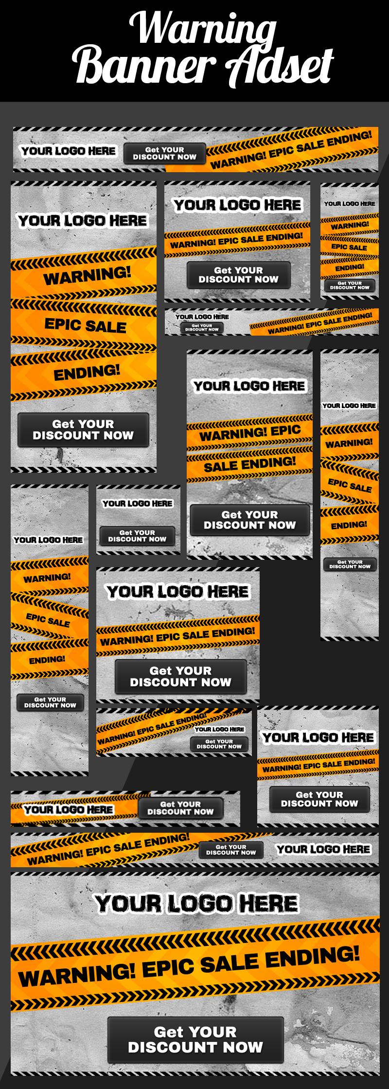 Warning Banner Adset