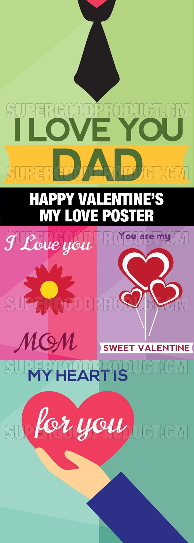 Happy-Valentines-Day-My-Love-Poster