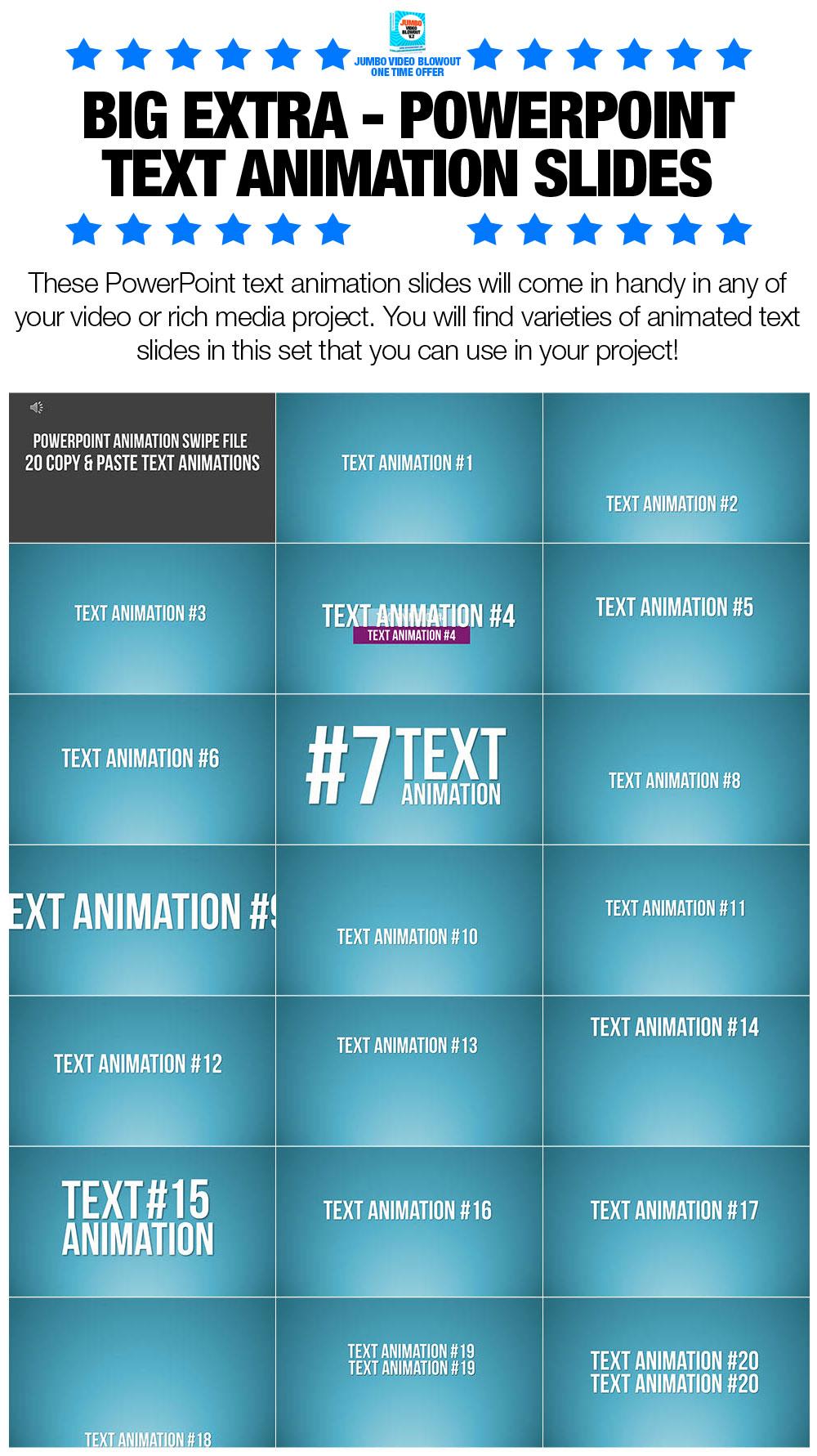 OTOBigExtra-PowerPointTextAnimationSlides