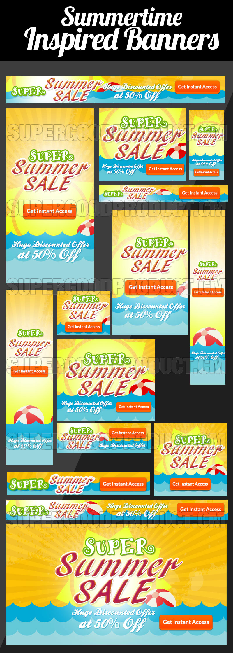 Summer-Time-Inspired-Banners