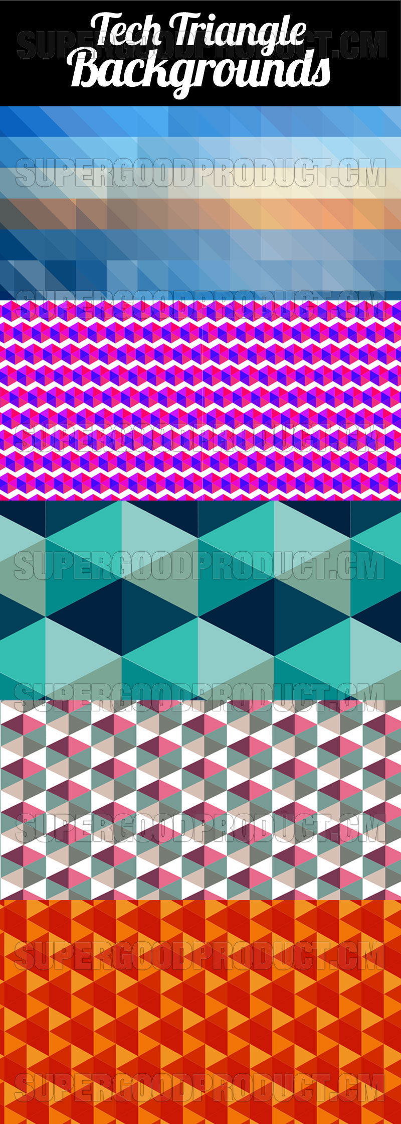 Tech-Triangles-Backgrounds